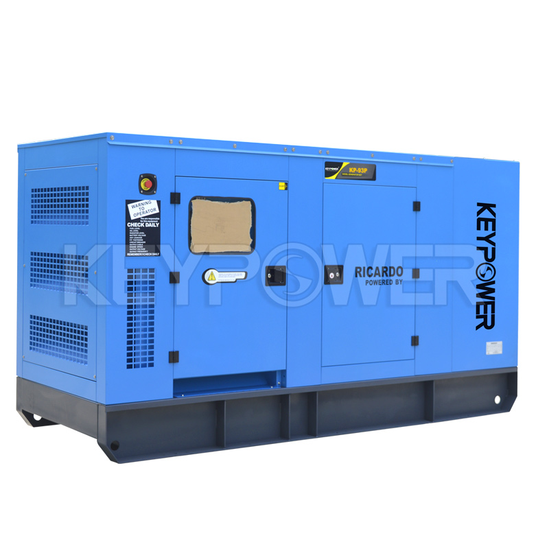What role does turbocharging play in a diesel generator set?
