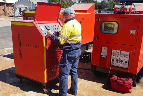 load testing rental generators from 10kw-100kw