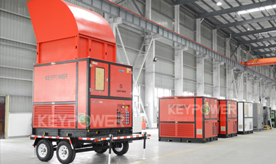 KEYPOWER 1000 kW Resiistive load banks trailer type or rental company