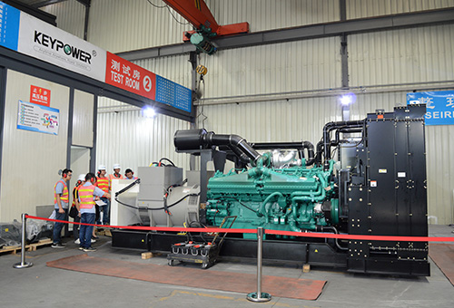 4 units of 2500 kVA UK Cummins generators for Veolia, the Philippines -FAT SUCCESS