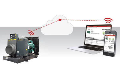 KEYPOWER Monitoring Cloud to Achieve Remote Control/Management on Generators